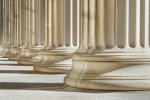 Classic columns background