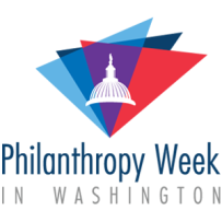 Philanthropy Week in Washington logo with capitol hill image