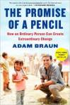 photo of book the promise of a pencil