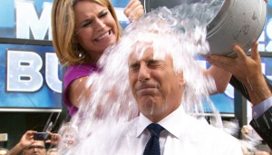 Matt Lauer ice bucket