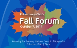Fall Forum Email Header for nonprofits