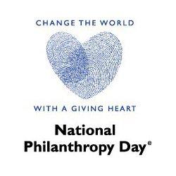fingerprint heart: National Philanthropy Day image