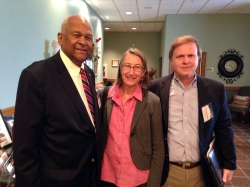 Board members at the Fall Forum in October 2014, Mike Shinn, Susan Urano, Scott McReynolds