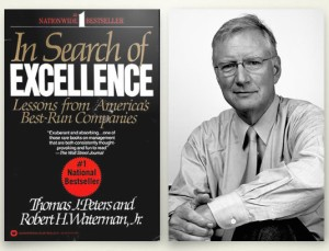 tom peters and book cover
