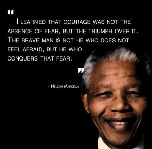 nelson mandela fear quote